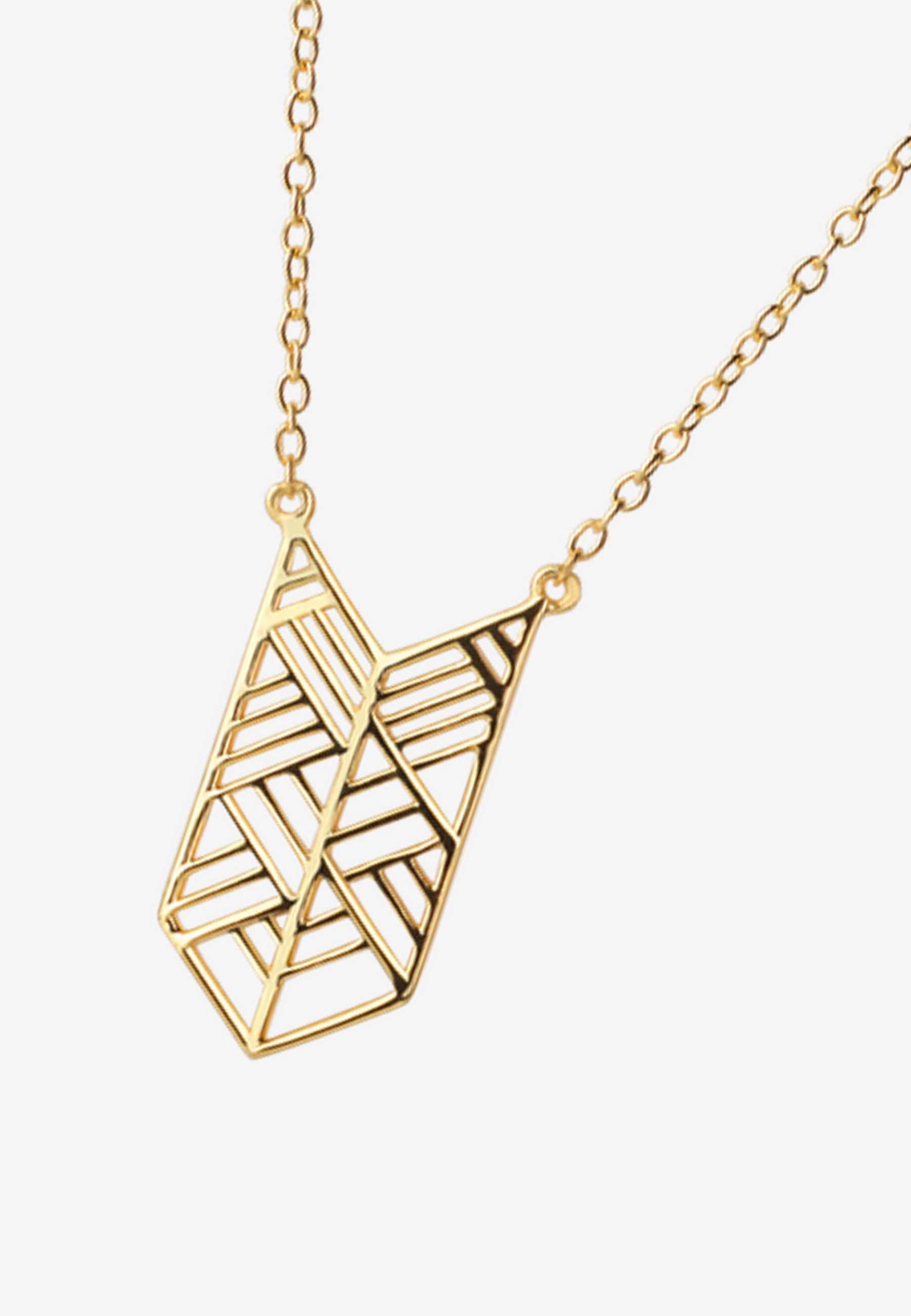 Collar ethnic oro2 za