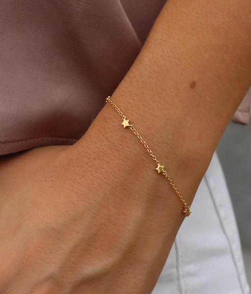 STARS gold bracelet