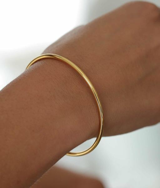 TUBE gold bracelet