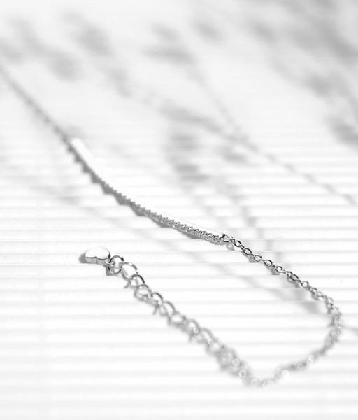LINE CZ silver bracelet