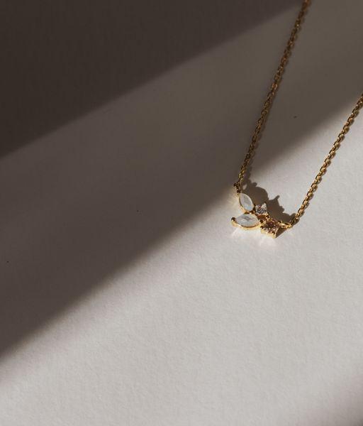 CLOUD gold necklace