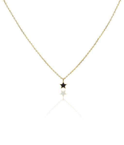 ESTRELLA WCZ gold necklace