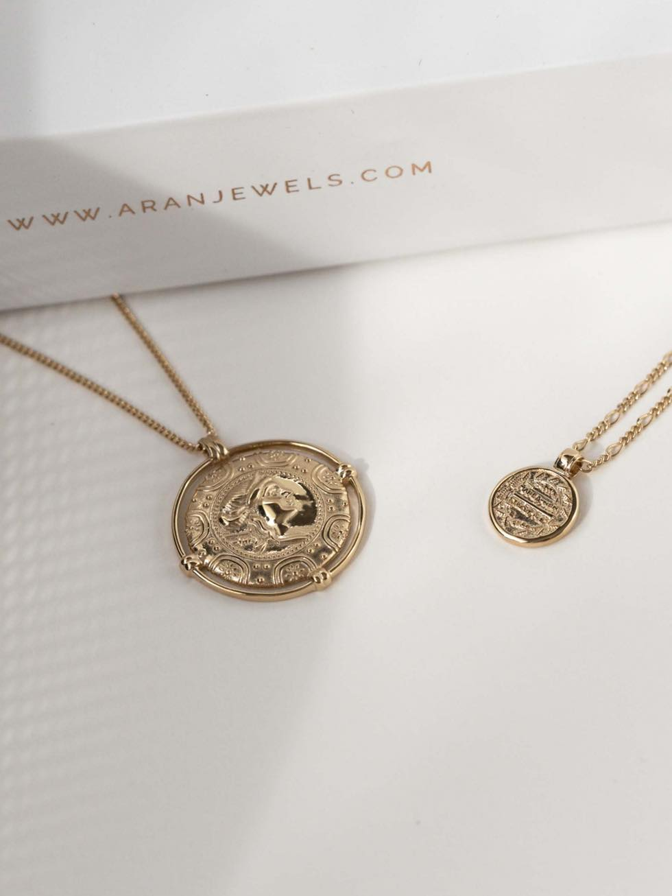 Collar moneda bohemio