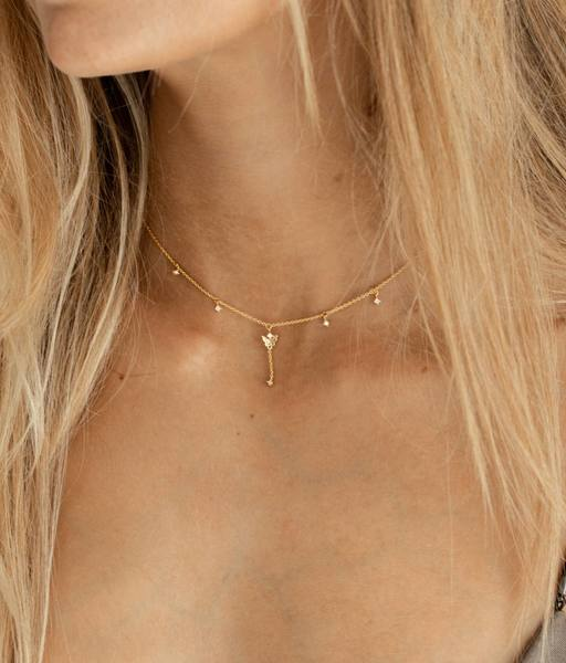 Collier LIFE MARIPOSA or